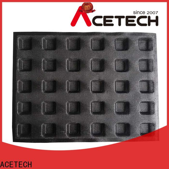 ACETECH direct silicone dessert molds manufacturer for muffin