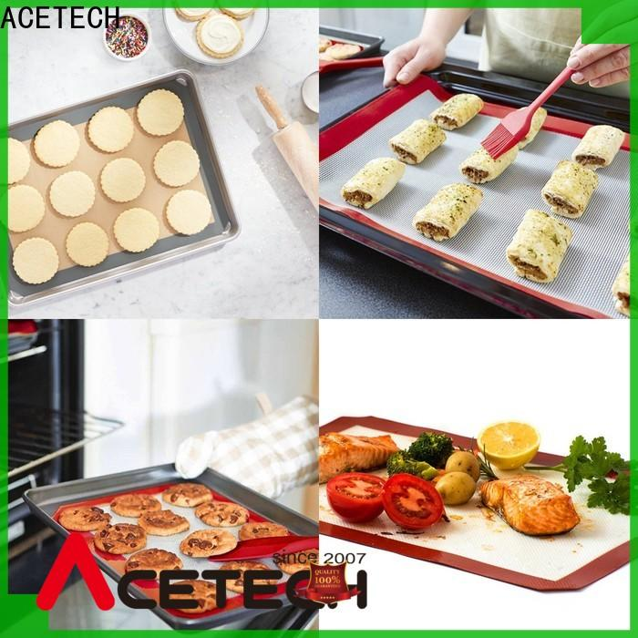 ACETECH hygienic custom silicone mats easy to clean for bread