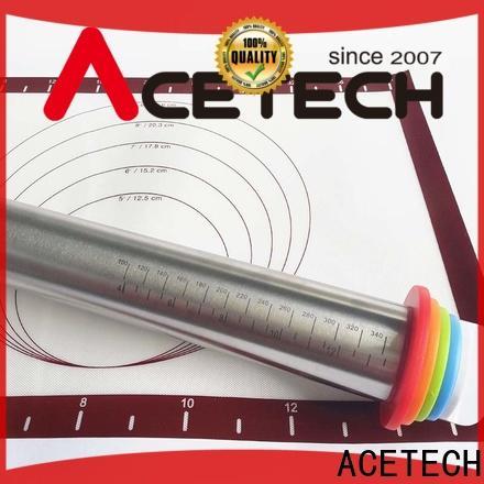 ACETECH pin steel rolling pin promotion for dumpling wrapper