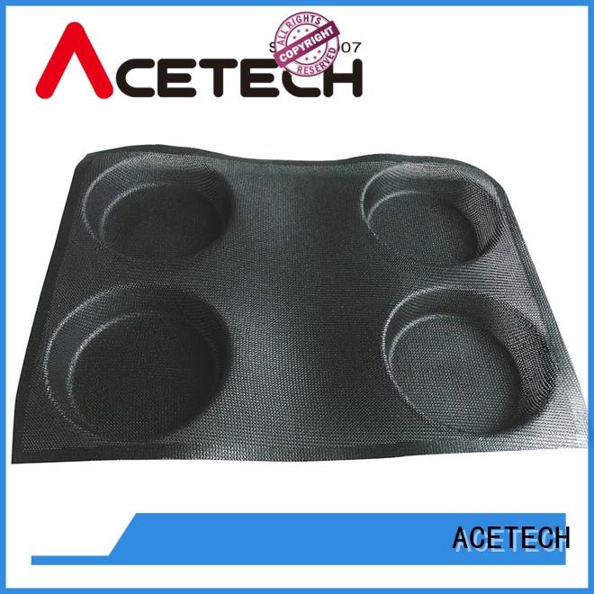 ACETECH food safe silicone cupcake molds promotion for muffin