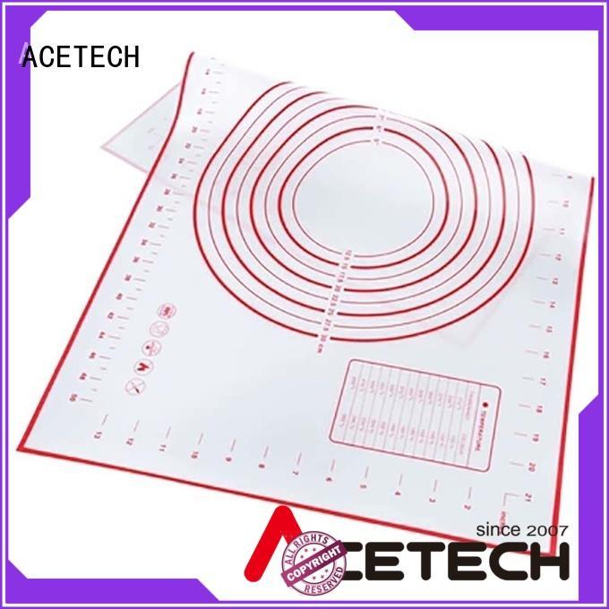 Hot perforated silicone baking mat baking fiberglass ACETECH Brand