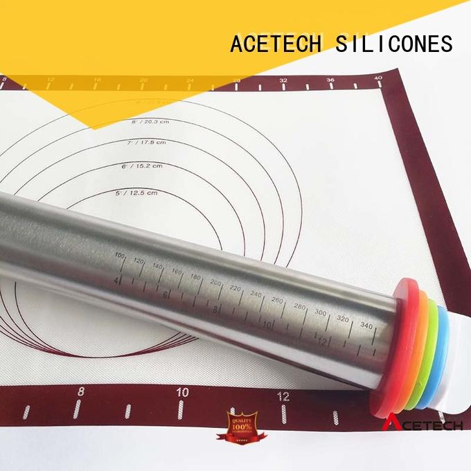 adjustable rolling pin adjustable stainless pin ACETECH Brand company
