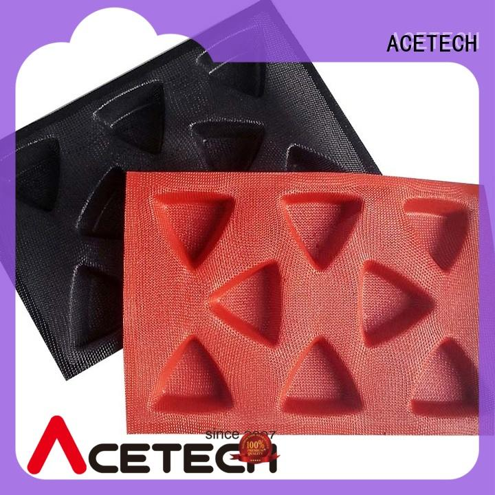 ACETECH healthy silicone cookie molds for cooking