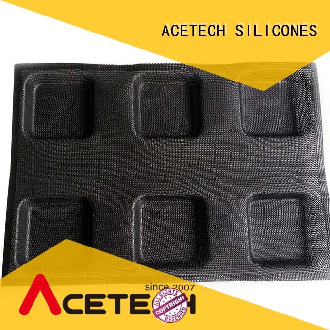 ACETECH ecofriendly silicone cookie molds promotion for bread