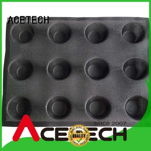 ACETECH easy silicone dessert molds manufacturer for cakes