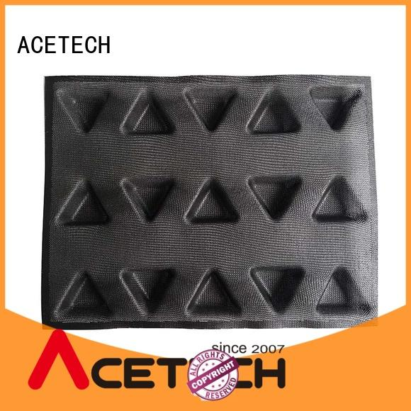 ACETECH clean silicone cookie molds manufacturer for muffin