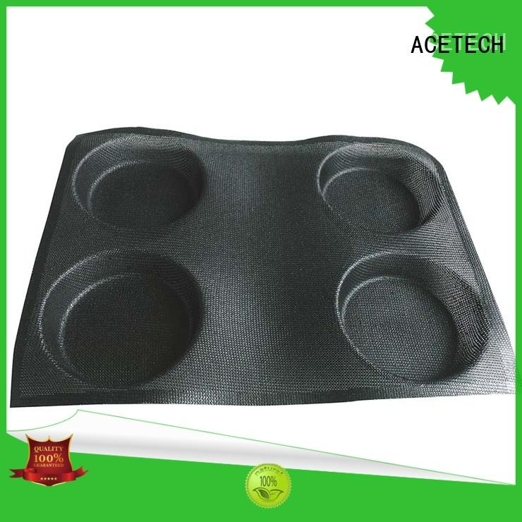 thumb small silicone cupcake molds triangle for bread ACETECH