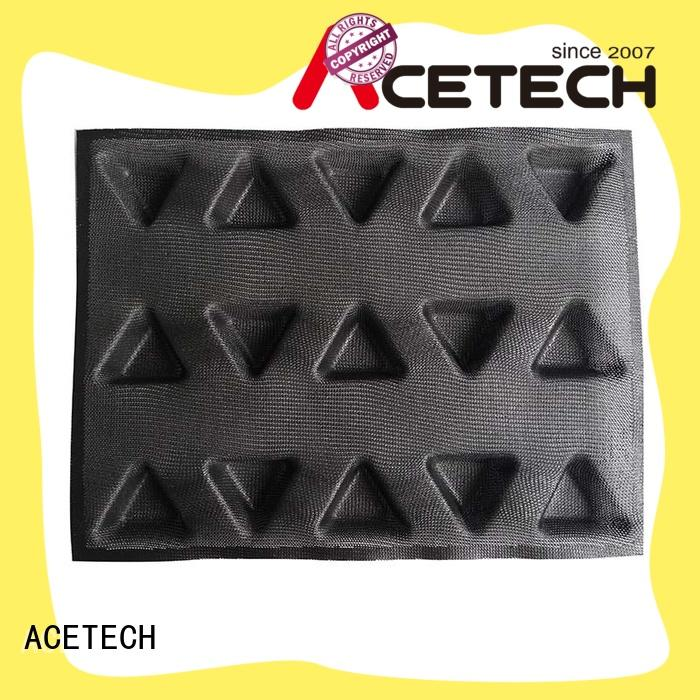 ACETECH size silicone cookie molds manufacturer for cooking