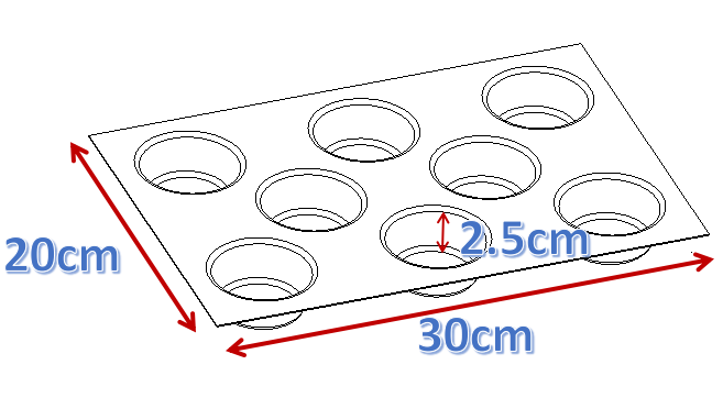 ACETECH microwave silicone baking molds for cooking-3