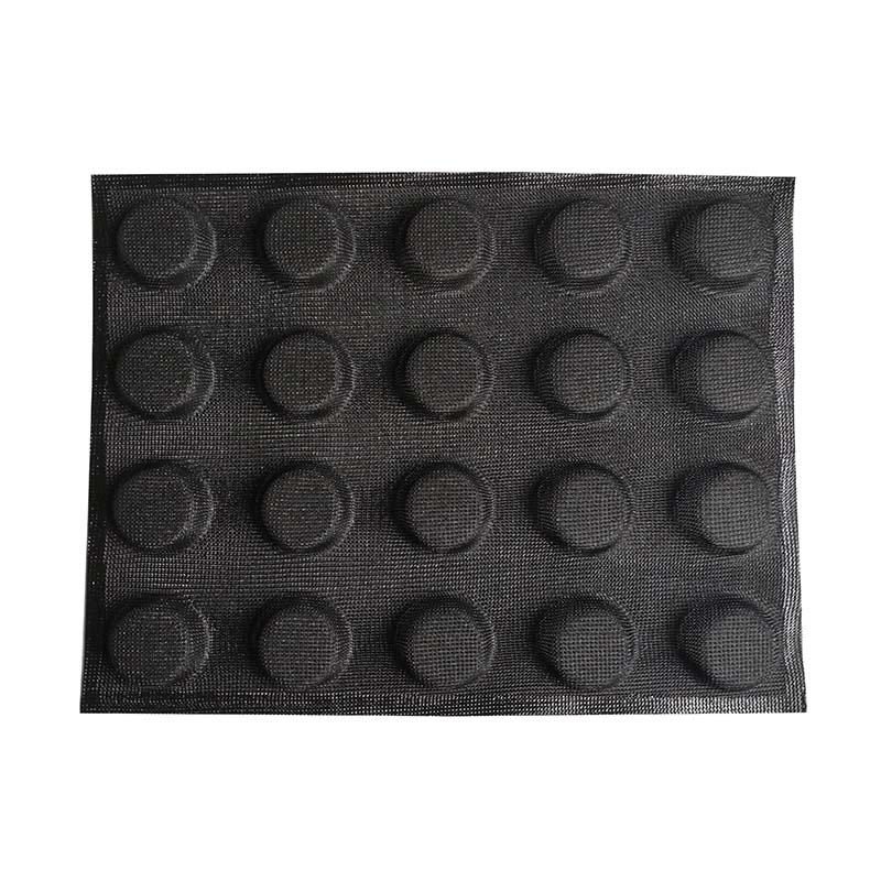 Hot sale 20 Cup Custom Silicon Cake Mold Round