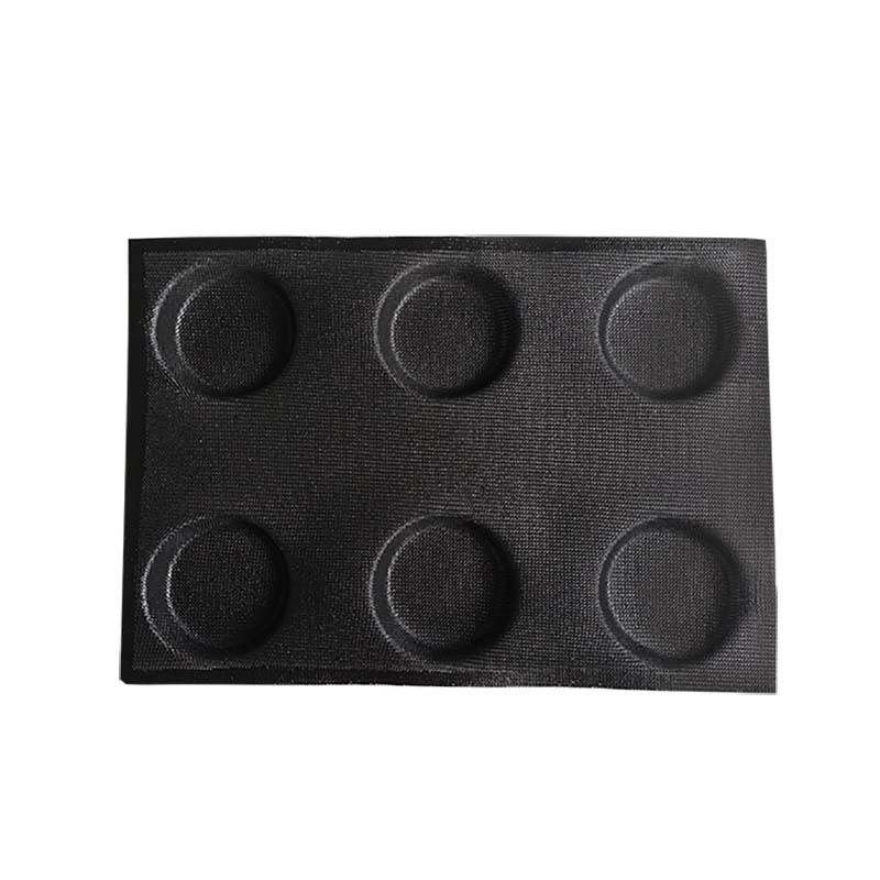 Home made 6 cup round shape silicone cake mold