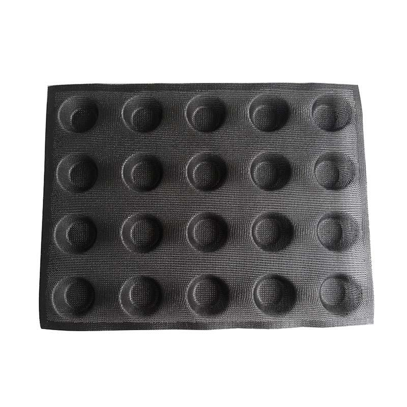 Manufacturer wholesale cake mold  20 cup Round Perforated bread form