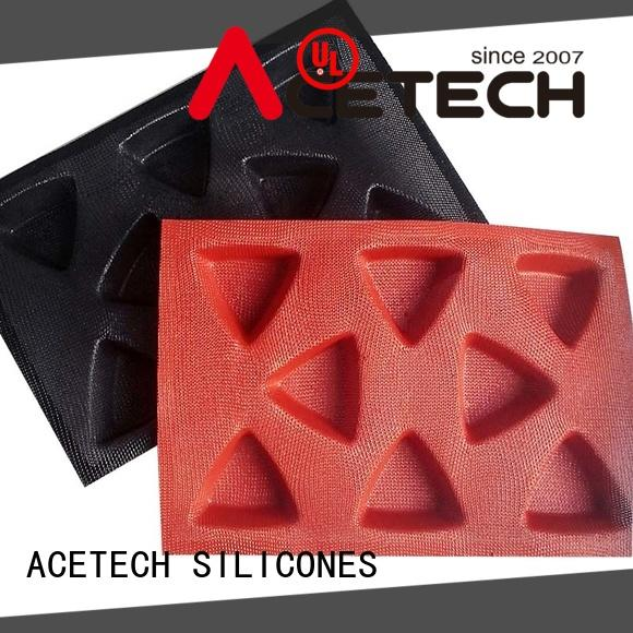 ACETECH food safe silicone mould for baking directly price for cooking