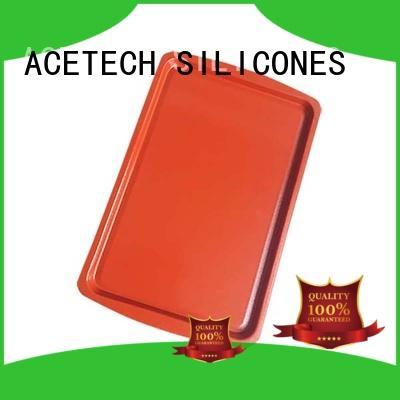 Wholesale nonstick silicone baking tray ACETECH Brand