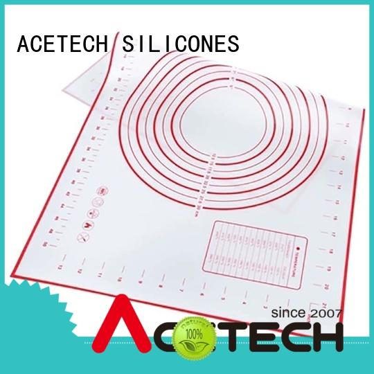 ACETECH eco-friendly custom silicone mats online for cooking