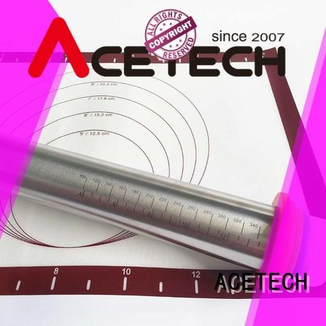 steel rolling pin adjustable manufacturer for making cookies