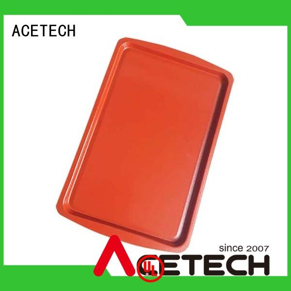 ACETECH pan silicone baking tray easy to clean for muffin