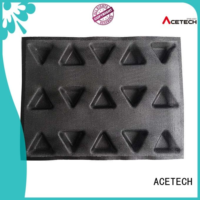 ACETECH food safe silicone cookie molds finger for cooking