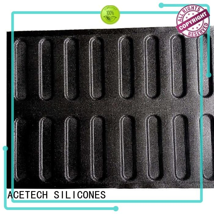 loaf finger custommade pan square silicone baking molds ACETECH Brand