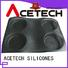 ACETECH food safe silicone muffin molds triangle for cakes
