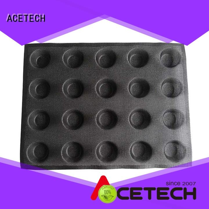 eclair silicone dessert molds for bread ACETECH