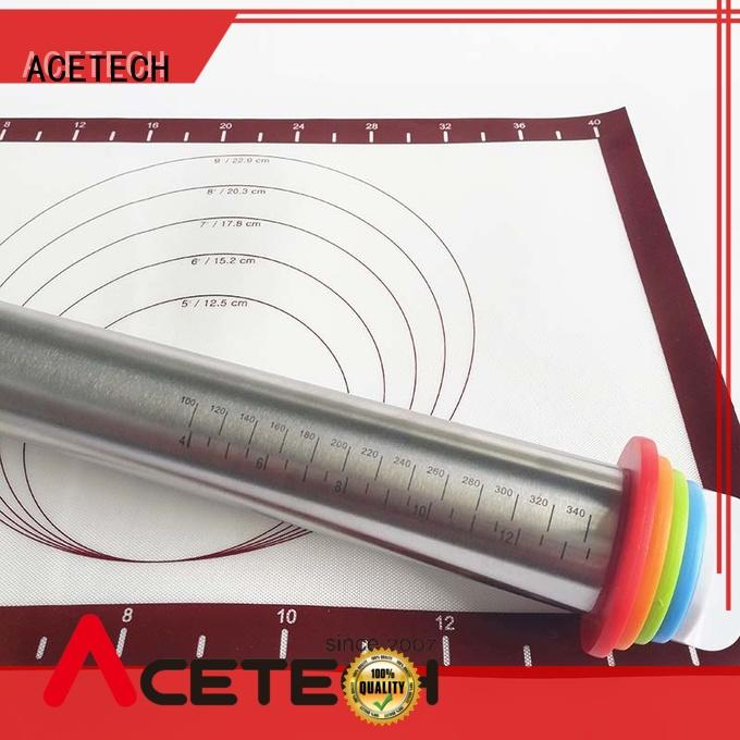 ACETECH rolling steel rolling pin online for pizza