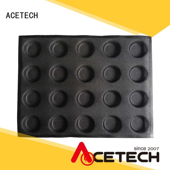 ACETECH food safe silicone cake molds manufacturer for cakes