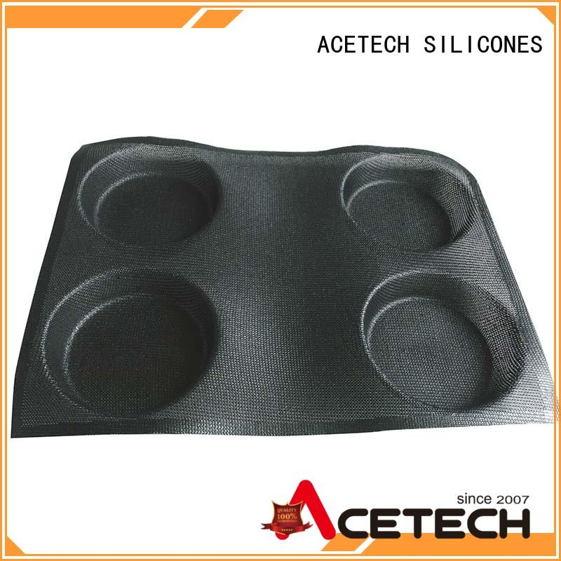 ACETECH food safe silicone cupcake molds manufacturer for muffin