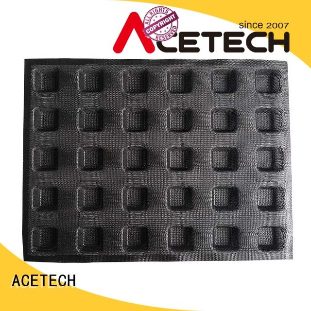 ACETECH durable custom silicone baking molds directly price for bread