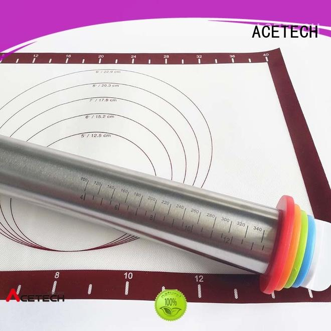 rings stainless pin ACETECH Brand stainless steel rolling pin