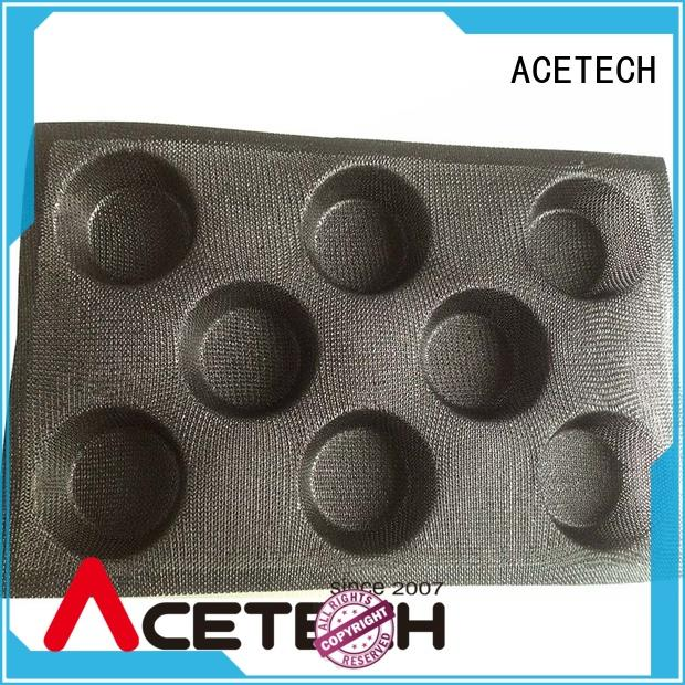 ACETECH durable custom silicone baking molds manufacturer for bread