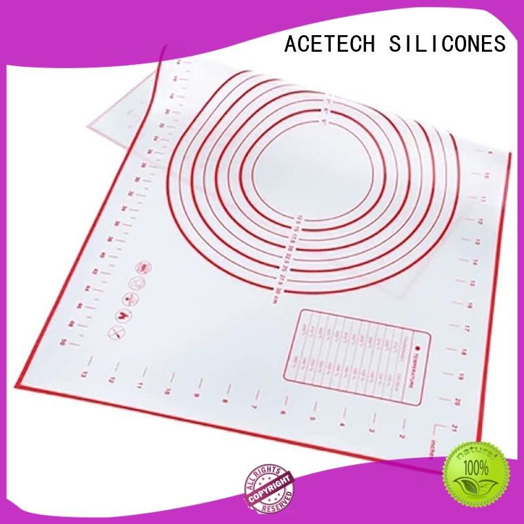 ACETECH soft silicone baking mat pastry for bread