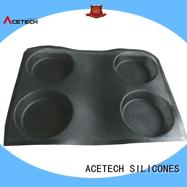 square silicone baking molds perforated round Bulk Buy easy ACETECH