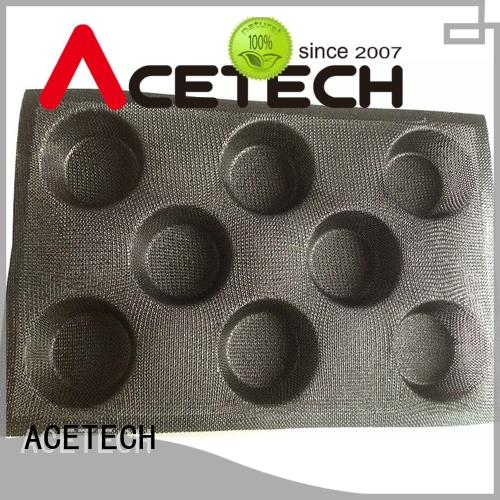 ACETECH direct silicone dessert molds promotion for cooking