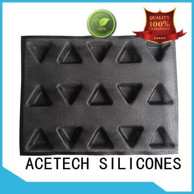 bread shape mini square silicone baking molds ACETECH Brand