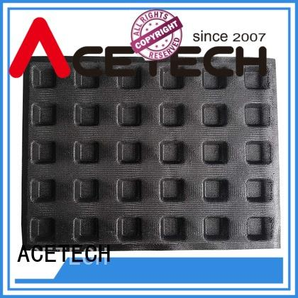 ACETECH perforated silicone dessert molds for cooking