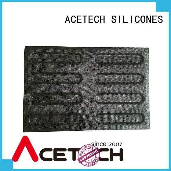 ACETECH square silicone cake molds directly price for cakes