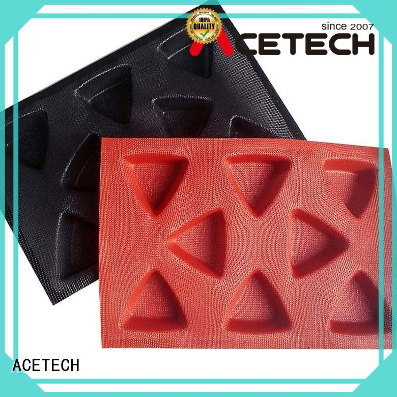 ACETECH good quality silicone dessert molds directly price for cakes