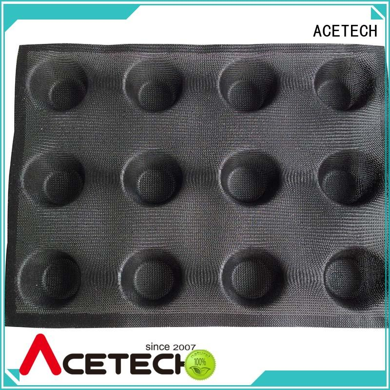 ACETECH baking silicone dessert molds promotion for cooking
