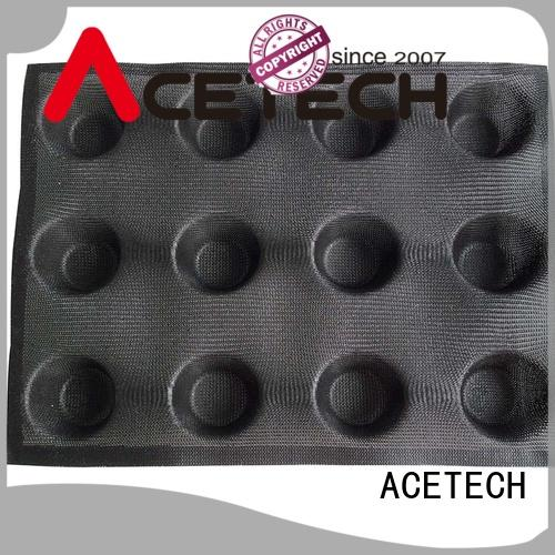 ACETECH food safe silicone dessert molds for muffin
