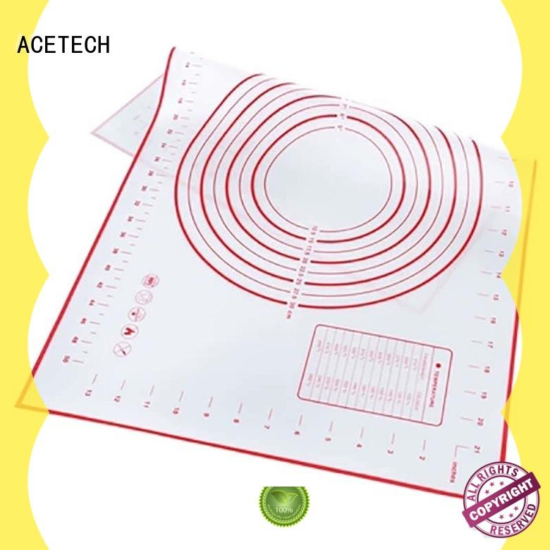 large size silicone kneading mat with custom printing Pad