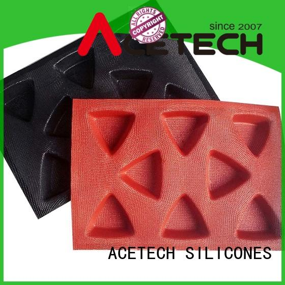 ACETECH Brand various cake sizesmuffin silicone baking molds manufacture