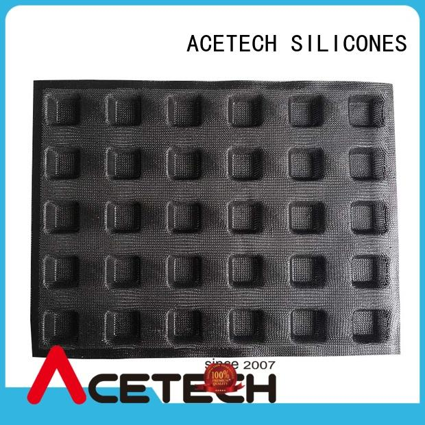 ACETECH subway silicone dessert molds directly price for bread