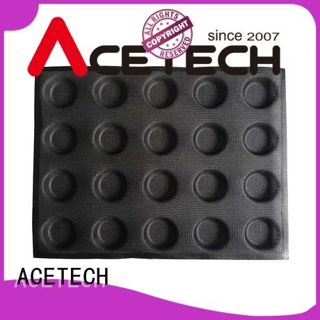 ACETECH cup silicone cupcake molds for muffin