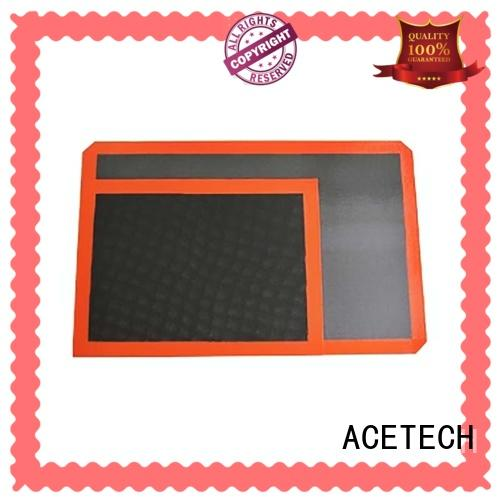 large non stick silicone baking mat supplier for macarons ACETECH