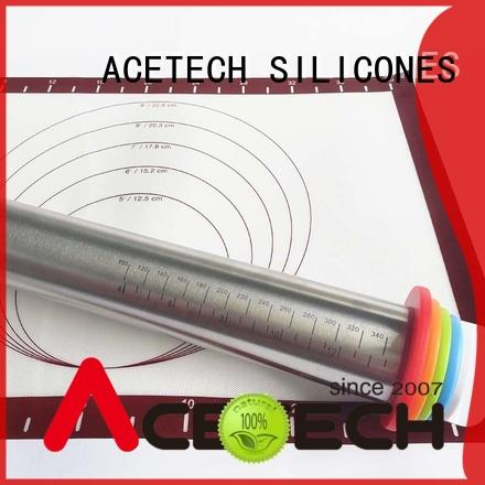 ACETECH stainless steel rolling pin promotion for making cookies