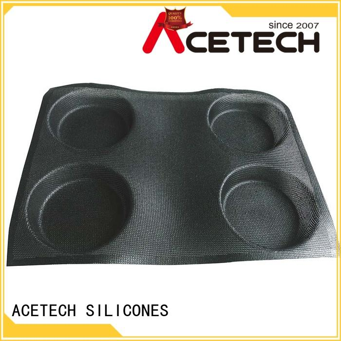 ACETECH healthy silicone baking molds for cooking