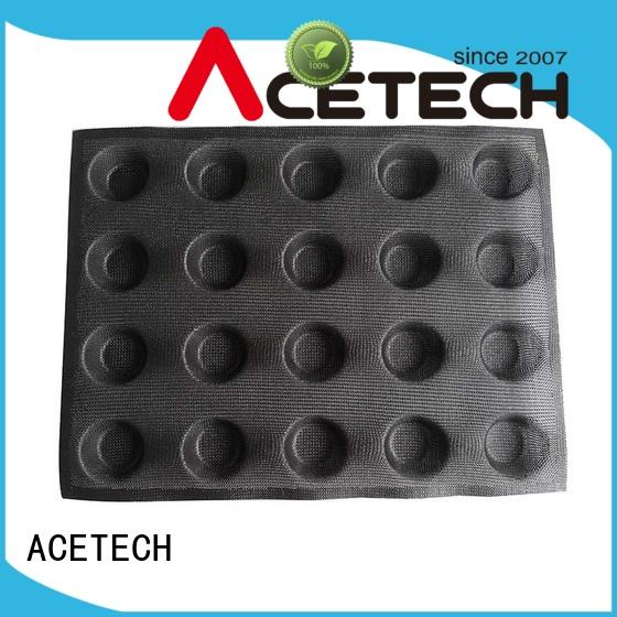 ACETECH different silicone dessert molds directly price for bread