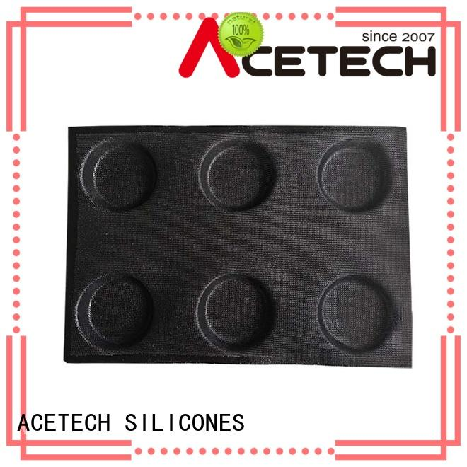 Wholesale bread clean silicone baking molds ACETECH Brand