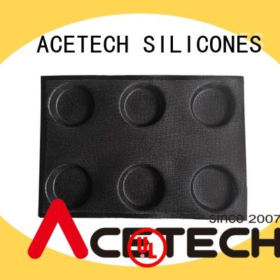 ACETECH durable silicone chocolate molds reusable for muffin
